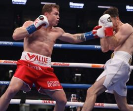 canelo alvarez callum smith boxing
