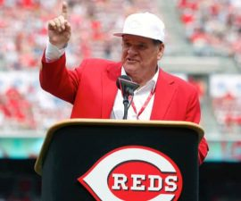 pete rose speaking