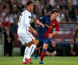 Messi Ronaldo European soccer markets