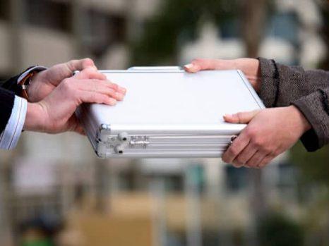 briefcase handoff